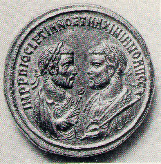 Two Emperors on a single coin