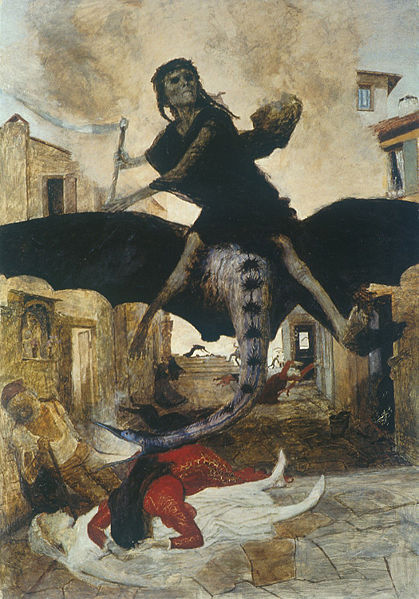 Plague, by Arnold Böcklin