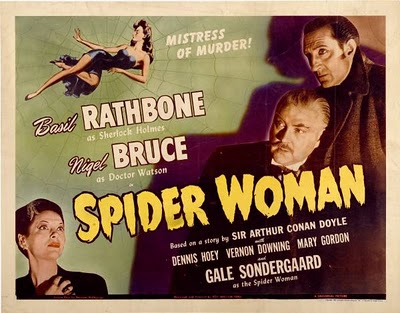 The Spider Woman - poster