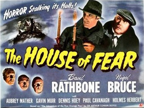 The House of Fear Movie Poster