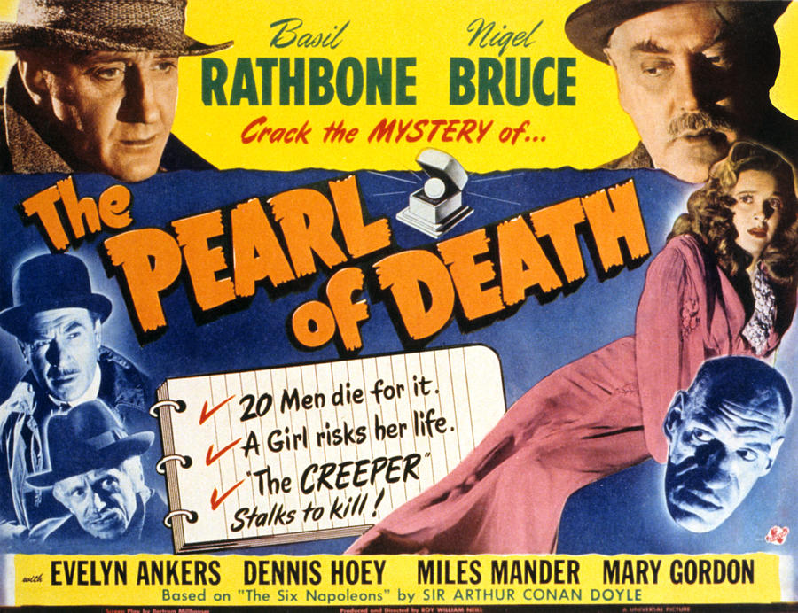 The Pearl of Death movie scenes Sherlock Holmes and the Pearl Of Death 1944