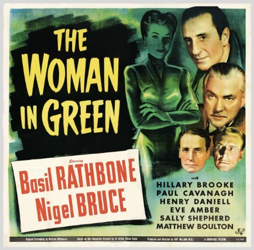 woman in green poster