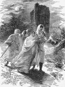 Matilda flees from besieged Oxford