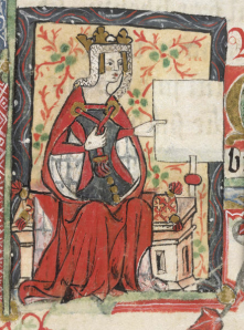 15th century portrait of Matilda. Source: Wikipedia Commons.