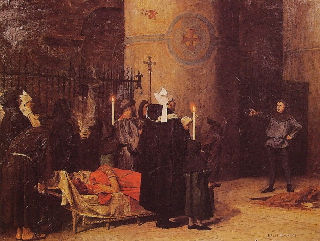 Funeral of William the Conqueror, by Jean Paul Laurens