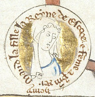 Matilda of Scotland, Henry's first wife. She may be the