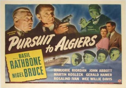 pursuit algiers poster