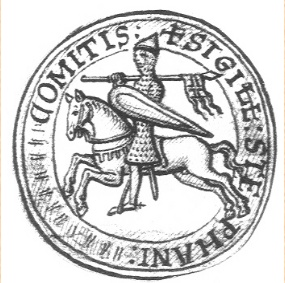 The seal of Count Stephen.