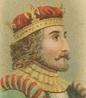 King Stephen as a young man