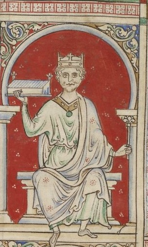 Contemporary drawing of William Rufus. Picture via Wikimedia Commons