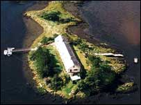 Inis Saimer Island. Availaible for rent