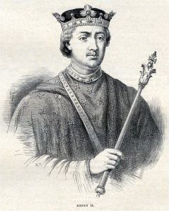 King Henry II Picture from Cassells' History of England, via Wikimedia Commons