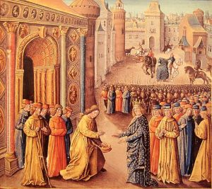 The Second Crusade arriving in Antioch