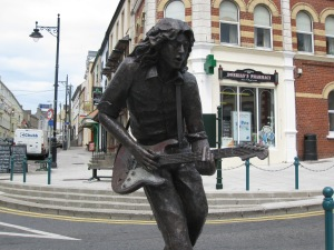 Rory Gallagher, Ballyshannon's favourite son.
