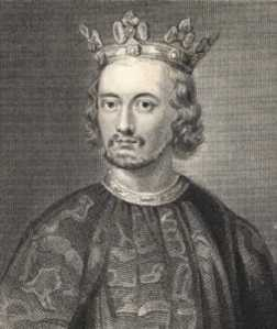 John, later in life as king