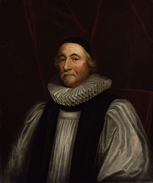 Archbishop James Ussher. Painting by Sir Peter Lely. Image via Wikimedia Commons.