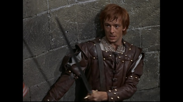 Peter McEnery as Hugh Rua in The Fighting Prince of Donegal Picture via Open Vault Disney