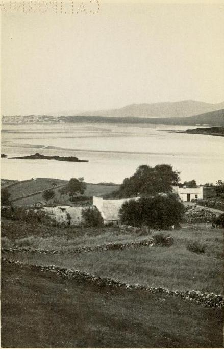 The house in Glenties where Patrick MacGill was born. Image from the frontispiece of Songs of Donegal