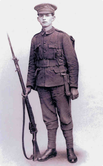macgill in uniform