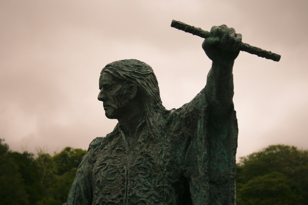 Statue of Red Hugh near Donegal town. Picture by rgmcfadden