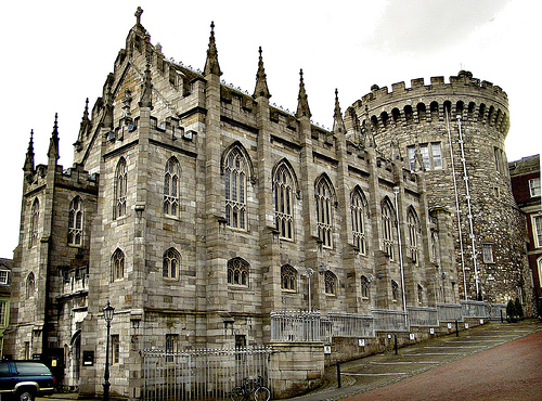 Dublin Castle (where Hugh Rua was imprisoned) today.