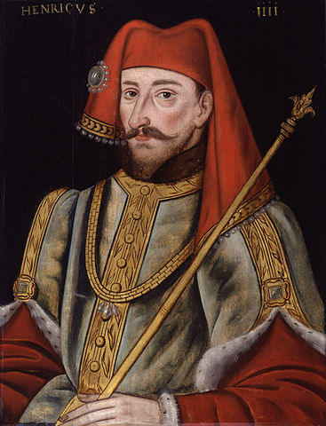 Portrait of Henry Bolingbroke. Artist and date unknown.