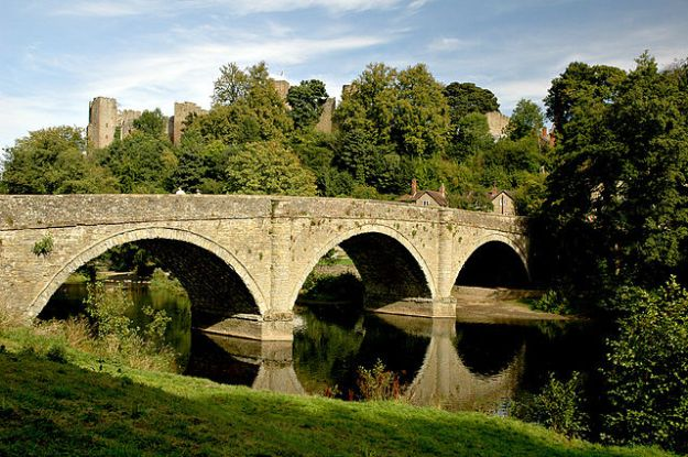 Ludlow Bridge, where battle almost took place.