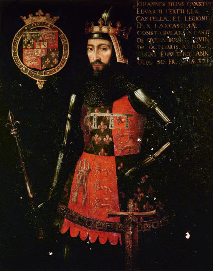 John of Gaunt. Commissioned 1593, artist unknown.
