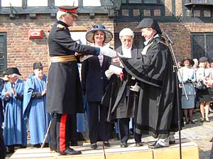 To this day, the Mayor of Sandwich wears black robes in memory of those killed in the French attack.