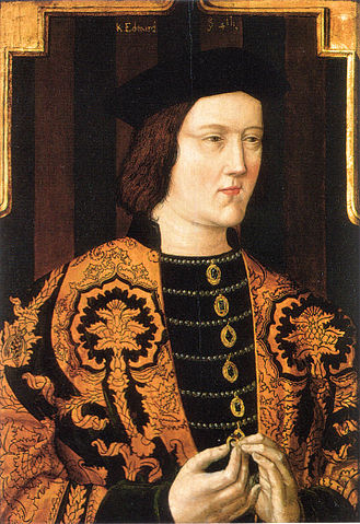 Edward IV of England. An affable young man, who grew into an inconveniently strong-minded king.