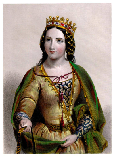 Anne Neville, the Kingmaker's daughter. One day she would be Queen.
