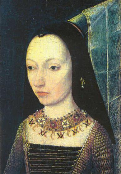 Margaret of York, wife of Duke Charles the Bold and sister of Edward IV.