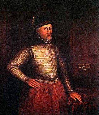 Richard Neville, 16th Earl of Warwick. His actions in placing Edward IV on the throne earned him the sobriquet