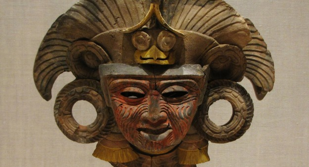 One of the lost gods of Teotihuacan. Pictue via Renée DeVoe Mertz