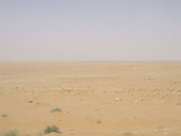 The Syrian desert, where once an empire flourished.