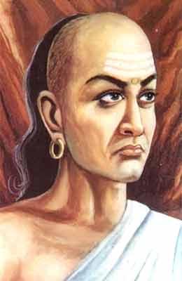 Chanakya, godfather to the Empire. The lack of mention of Chankaya in contemporary Greek texts lead some to think he is a mythical figure.