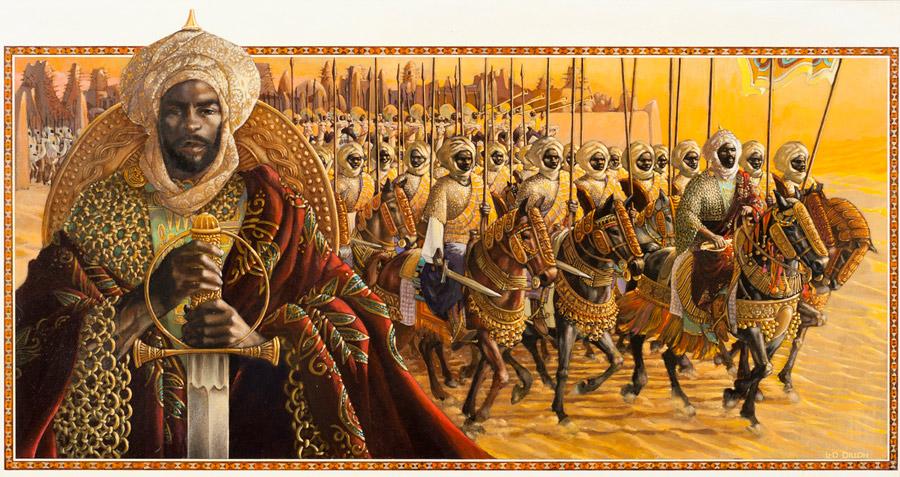 The Songhai army./Ph. DR