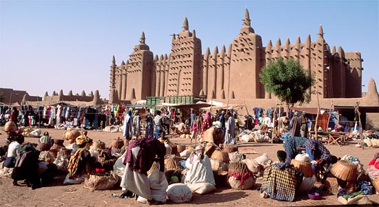 Jenne, now known as Djenne, one of the three great Songhai cities that remains steeped in their culture today.