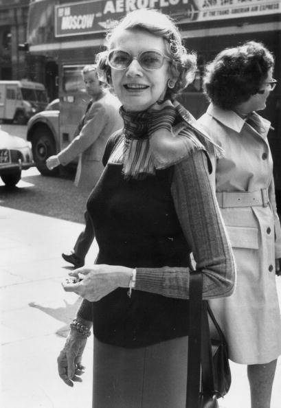 Aileen in 1972, picture taken in London.