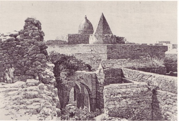 The Fakr Ud Din mosque, built in Mogadishu around the time it fell under the control of the Ajurans.