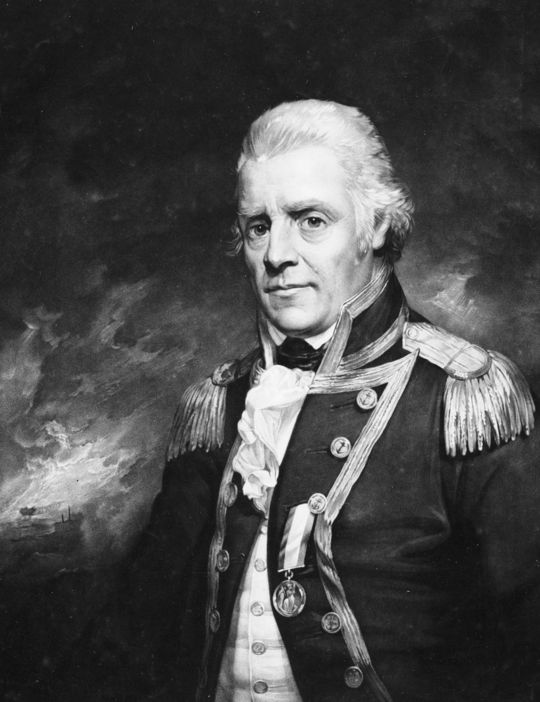 Admiral Sir Henry D'Esterre Darby, by Sir William Beechey, 1801
