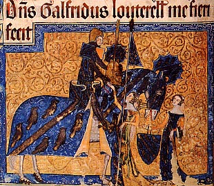 The Luttrell family are most famous for a later Sir Geoffrey, in the English branch, who commissioned the Luttrell Psalter, a lavishly illustrated book of prayers, around 1345.
