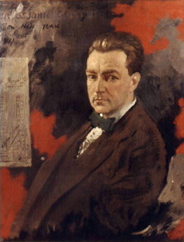 Oliver St John Gogarty, painted by Sir William Orpen in 1911