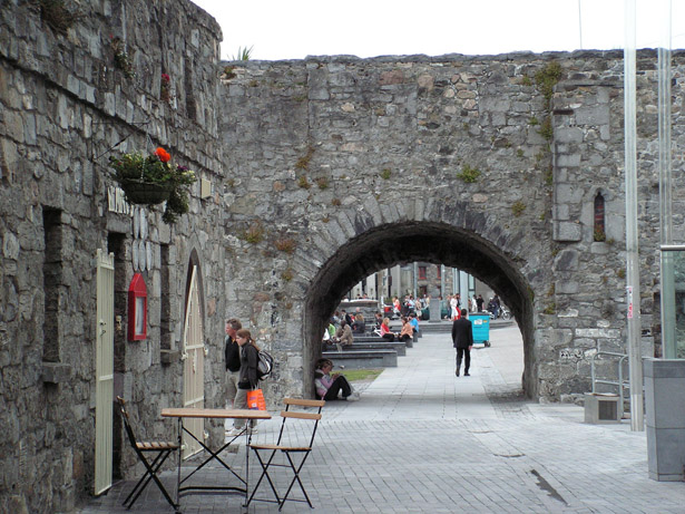 The Spanish Arch, one of many contributions the Martyn family made to Galway life.