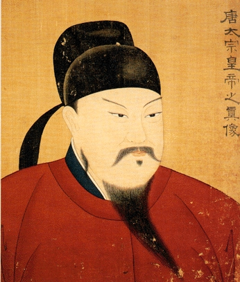Emperor Taizong, second emperor of the Tang dynasty.