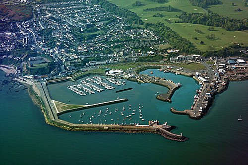 Malahide port today. Picture by Pieter on Panoramio.