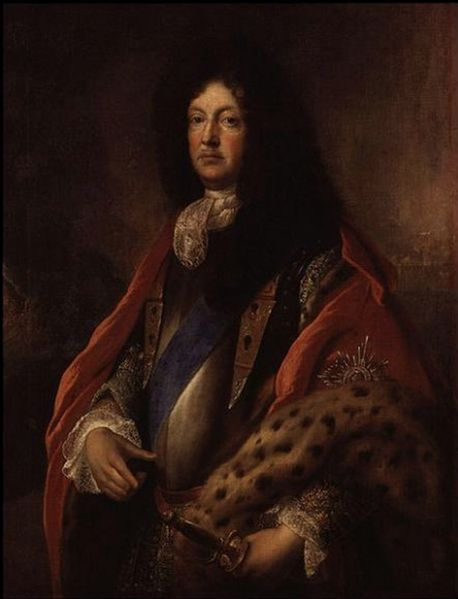 Richard Talbot, Earl of Tyrconnell. The portrait is by the French pianter, Francois de Troy, who became the court painter for King James II in his exile.