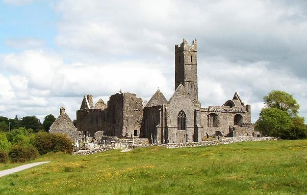 Quin Abbey in County Clare.